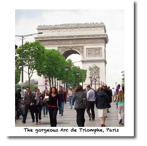 l'Arc de Triomphe, Paris - find it on the Paris map