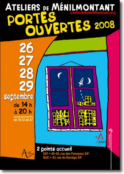 Artists' Open Doors in Paris 2008 -- Paris September 2015