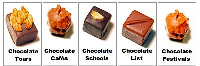 Delicious chocolates in Paris - tours, cafes, schools and even a list of chocolate cafes to visit