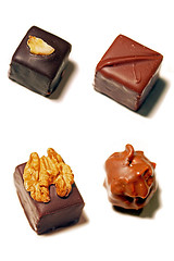 Delicious chocolates in Paris