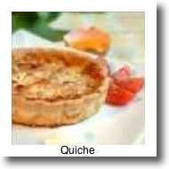 Ahhh quiche - top of the list of what to eat in Paris.