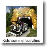 There are plenty of fun activities for kids in Paris in summer time