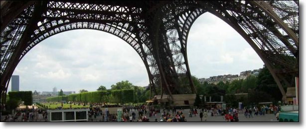 The history of the Eiffel Tower is fascinating - it was almost pulled down!