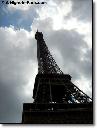 The history of the Eiffel Tower - beautiful from every part of the city of Paris France