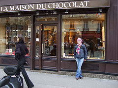 La Maison du Chocolate - one of the best chocolate salons in Paris, France