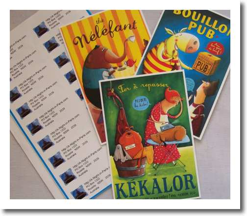 How To Address A Postcard. use return address labels