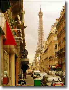 One night in Paris - what a gorgeous city! Here is the Eiffel Tower.