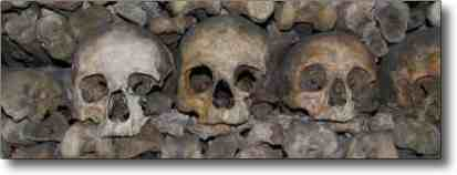 Paris Catacombs - ghoullish? ghastly? You be the judge