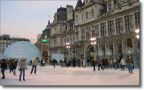 Paris in January - Galette de Roi, Ice skating, New year's day