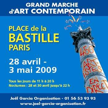 Art Contemporain April to May 2009 at La Bastille Paris