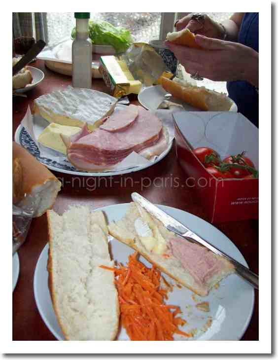 Boulangerie & Charcuterie - Having a picnic in Paris, grab a bottle of wine!