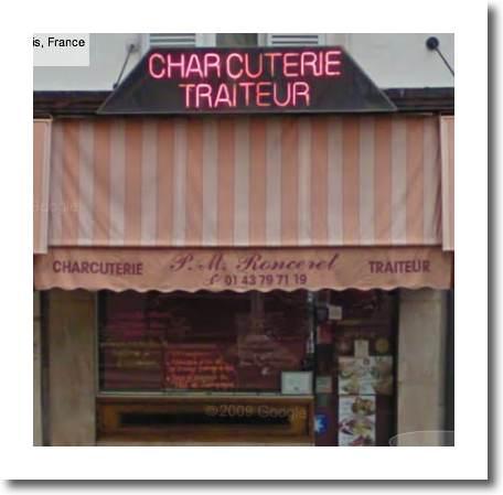 Charcuterie Traiteur - Deli - Ronceret, 75011 Paris