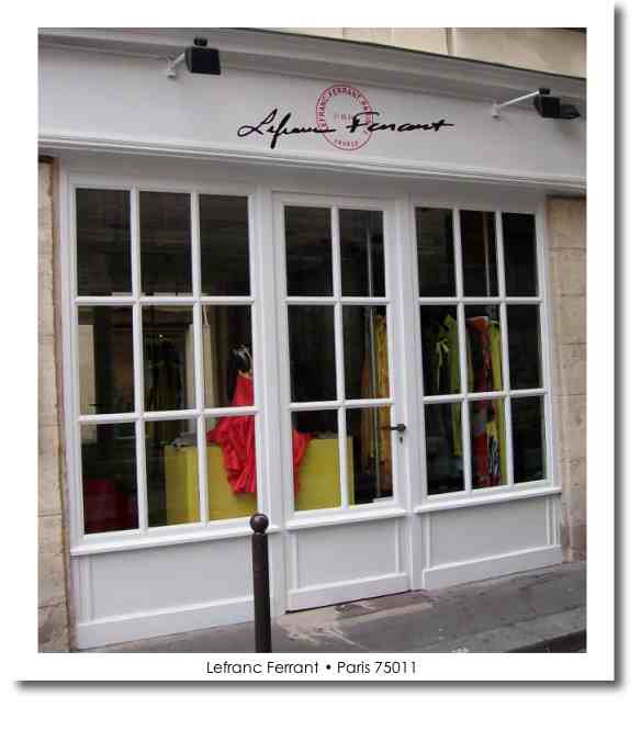 Shopping in Paris at Lefranc Ferrnat is a colour sensation