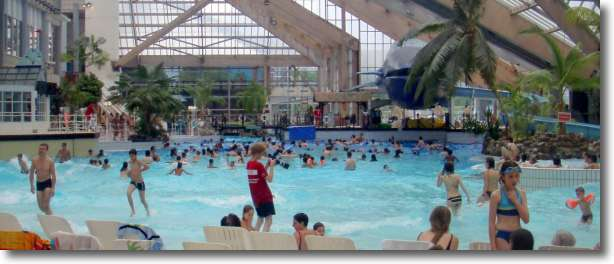 Great summer  activities for kids with water can be found at Aquaboulevard in Paris