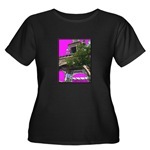 A-Night-in-Paris t-shirt black women's plus-size
