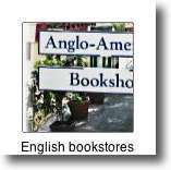 why not visit the English-speaking and American bookstores