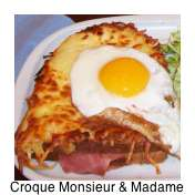 Not sure what to eat in Paris? Oh I do love a Croque Monsieur and a Croque Madame!