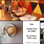 Cafe Thank You My Deer in the 11th arrondissement