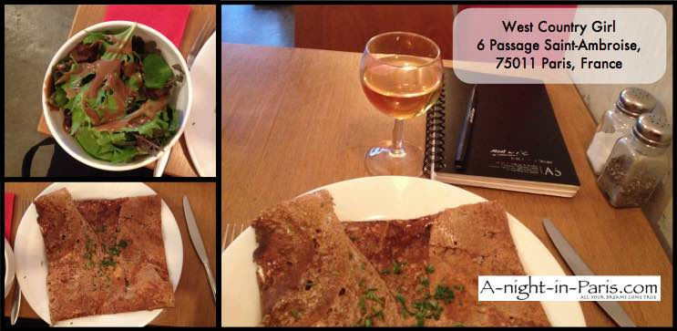 West Country Girl crepes and cider in 75011