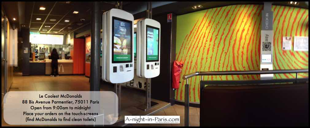 An easy way to find public toilets in Paris