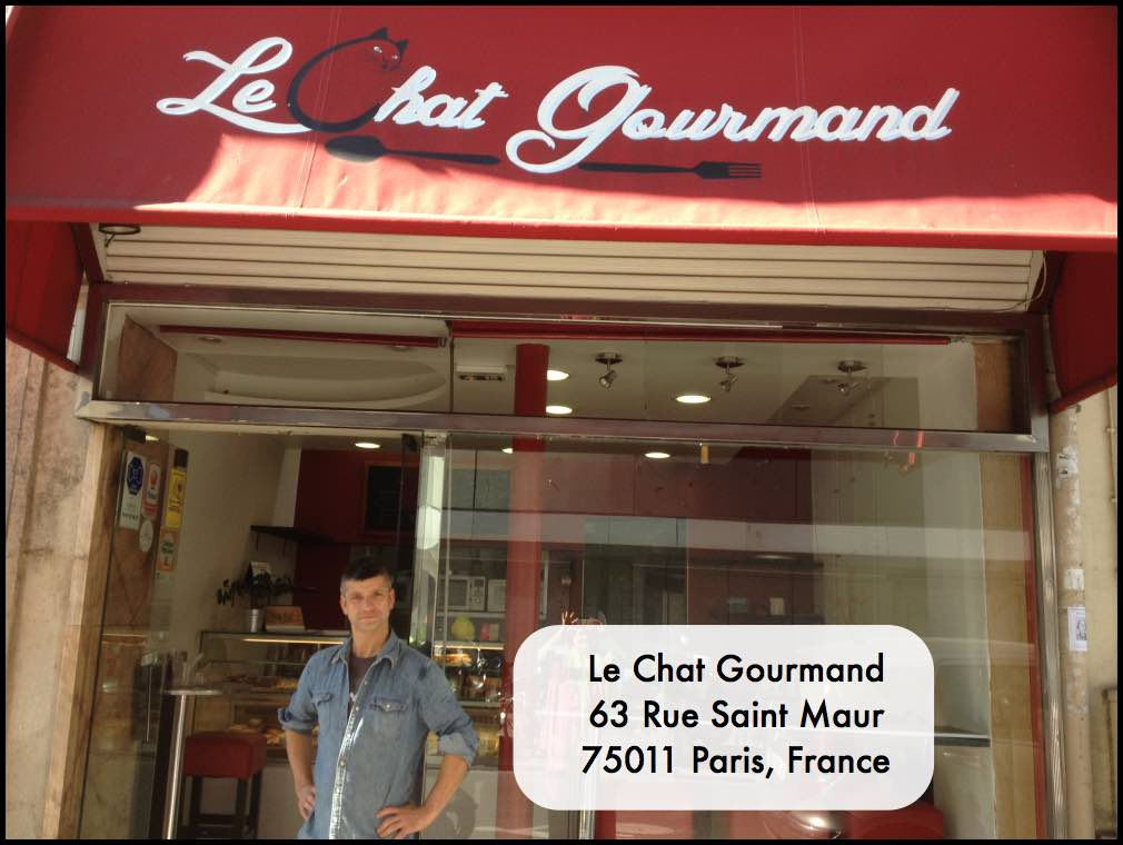 Le Chat Gourmand lunch bar in the 11th arrondissement