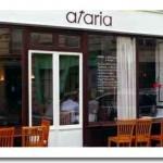 Eating Tapas at Afaria Restaurant 75015