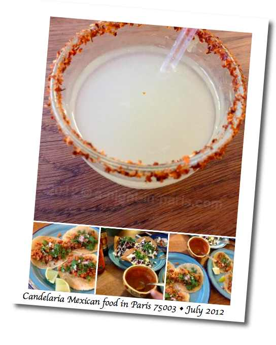 Candelaria Mexican restaurant in 75003 Paris was terrific (image)