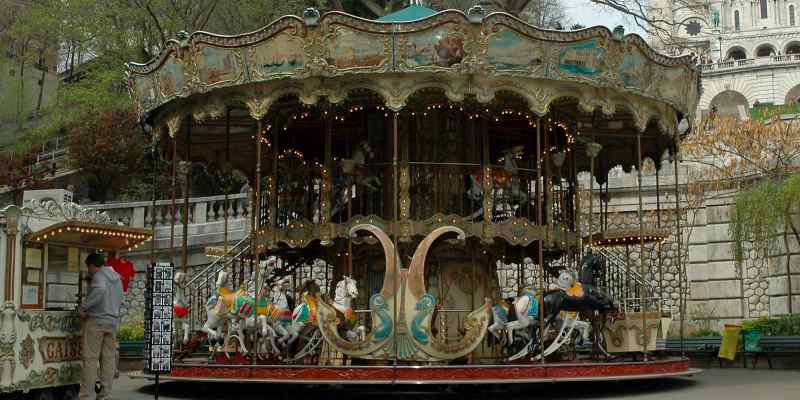 Dreaming of Paris - a carousel