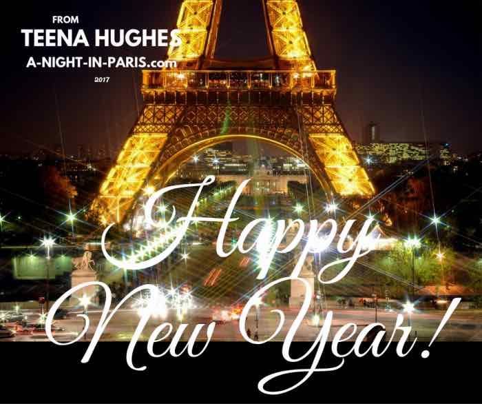 Bonne Annee! Happy New Year from Teena Hughes