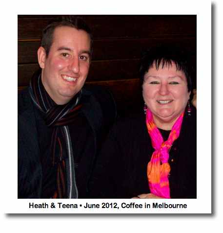 Cafe Coutume recommended by Heath (of Melbourne) with Teena (image)