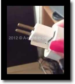 How To Use A Foreign Laptop Plug in Paris - Tip! (image)