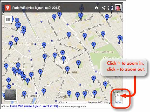 Wifi hotspots in Paris - how to use your Optus iPhone in Paris