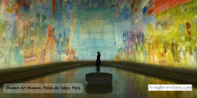 Modern Art Museum - Palais de Tokyo - List of free Paris museums opn on Sundays