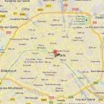 Using maps of Paris online