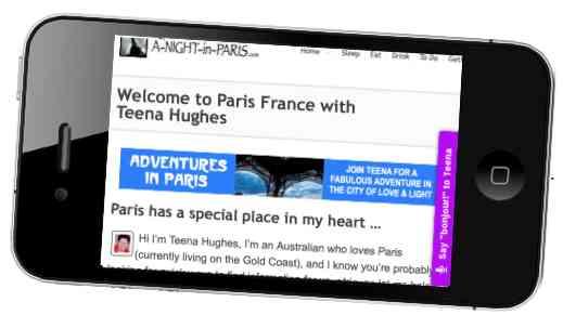 Thieves grab-and-run smart phones in Paris