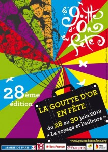 Paris in June - la Goutte d'Or en Fete 2013 (image)