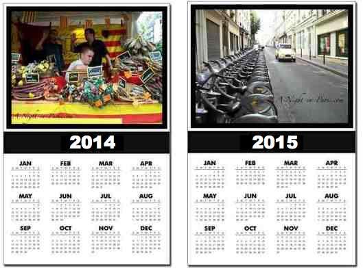Paris Schedule Calendar of Events