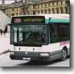 Paris Transport Bus