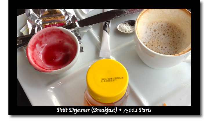 Petit Dejeuner in Paris was delicious! (image)