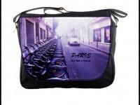 Paris Shoulder Bag with car photo