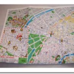 Save your travel maps of Paris
