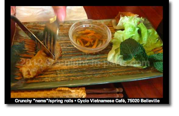 Where to eat Vietnamese in Paris - try Cyclo in Belleville (image)